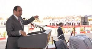 مصر تطلق (محور قناة السويس) وتدشن قناة بحرية جديدة موازية