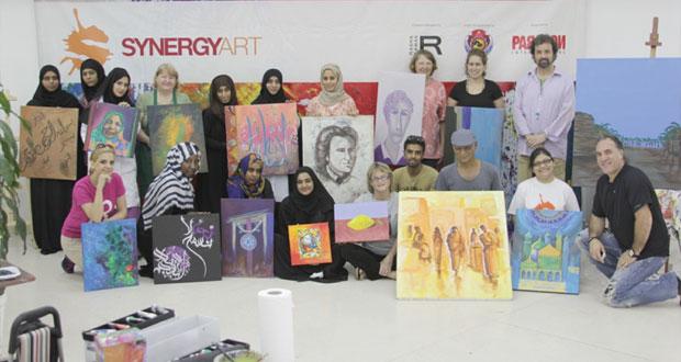 (سنرجي آرت) حلقة عمل فنية بالجمعية العمانية للفنون التشكيلية اليوم
