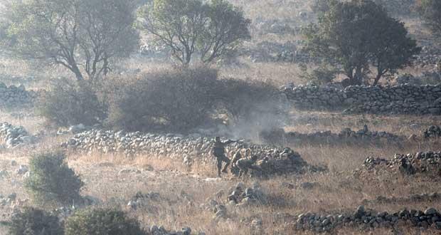 الجيش السوري يخوض معارك عنيفة مع المسلحين بالجولان