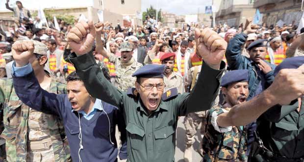 اليمن: الحوثي يدعو لـ(العصيان) وأنصاره يقطعون الشوارع