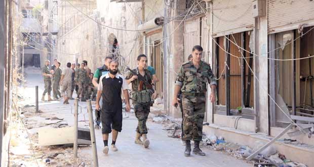 سوريا: مسلحون يفجرون أبنية أثرية في حلب