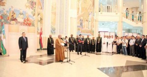 هيئة الوثائق والمحفوظات الوطنية تفتتح فعاليات معرضها الوثائقي في المتحف الحكومي لتاريخ التيموريين في أوزبكستان