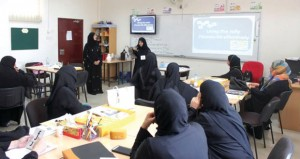 نقل الأثر التدريبي لبرنامج جولي فونكس لمعلمات تعليمية مسقط