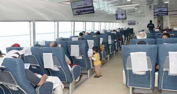 (الوطنية للعبارات) تنقل 32 ألف راكب بنهاية أغسطس الماضي