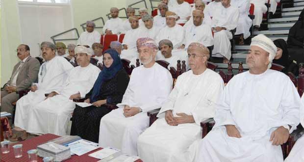 """وزير التنمية الاجتماعية يشارك أكثر من 100 موظف حضور برنامج """"تبادل الخبرات"""""""