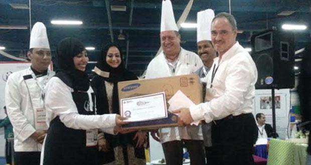 """كلية عمان للسياحة تختتم فعاليات مسابقة """"الطهي للهواة"""" 2014"""