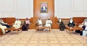 رئيس مجلس الشورى يستقبل أعضاء اللجنة التخصصية فـي المجال التشريعي