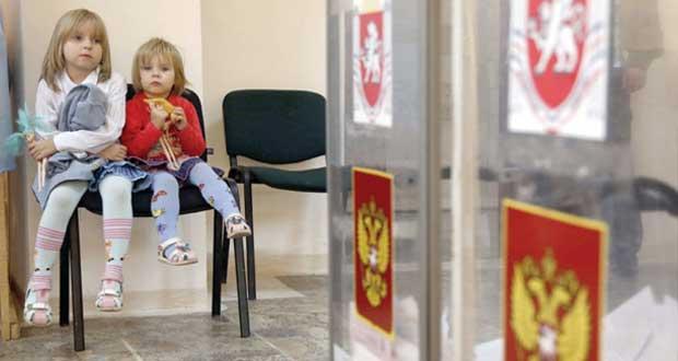 """""""القرم"""" تقترع في أول انتخابات برلمانية منذ الانضمام لروسيا"""