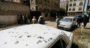 اليمن: الاشتباكات تتجدد بصنعاء والمبعوث الأممي يفشل في العودة من صعدة باتفاق