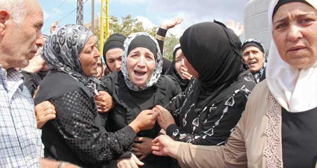 الجيش اللبناني يستهدف تجمعات للإرهابيين في جرود عرسال