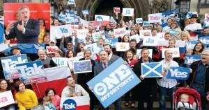 كاميرون في اسكتلندا بمحاولة إنقاذ أخيرة قبل الاستفتاء على (الاستقلال)