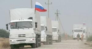 أوكرانيا : قافلة مساعدات إنسانية روسية ثانية باتجاه لوجانسك