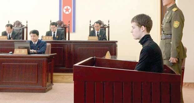 كوريا الشمالية تحكم بسجن أميركي محتجز لديها 6 سنوات
