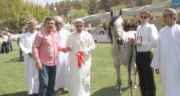 مروانة العاديات من أفضل (10) مهرات في بطولة الشرق الأوسط