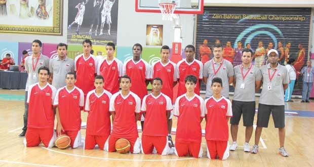 غدا منتخبنا الوطني لسلة الناشئين يواجه الإمارات