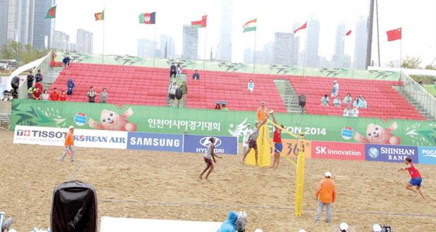 منتخب الطائرة الشاطئية يهزم كوريا الجنوبية ويلاقي قطر في الدور الثاني