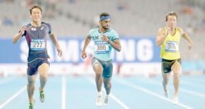 في دورة الألعاب الآسيوية أنشيون ..منتخب التتابع في النهائي والحارثي والنوفلي يشاركان في سباق 200 متر