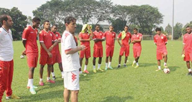 منتخبنا الشاب يستعد للنهائيات الآسيوية في ماليزيا