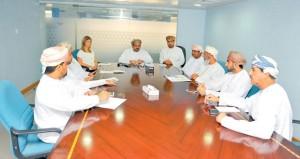اجتماع لجنة العلاقات العامة والخدمات للبطولة الكلاسيكية للجولف