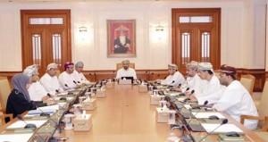 مكتب مجلس الشورى ينظر في تقرير جهاز الرقابة المالية والإدارية للدولة لعام 2012