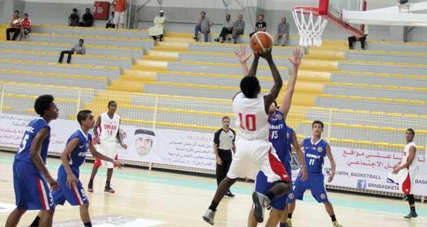 """منتخب الناشئين لكرة السلة يخسر من """"الكويتي"""" ويلاقي """"الإماراتي"""" في الجولة الثالثة"""