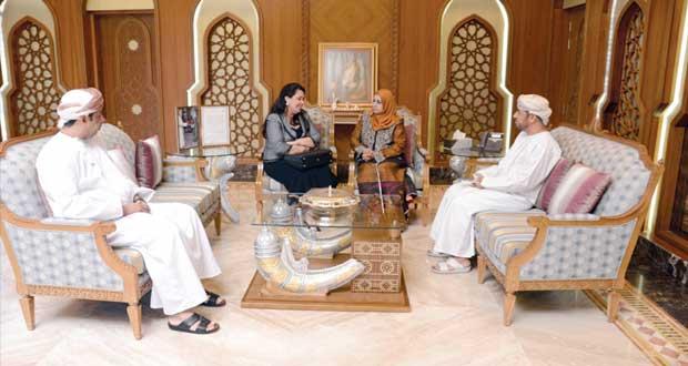 السيابية تستقبل مديرة برنامج حماة التراث باليونسكو