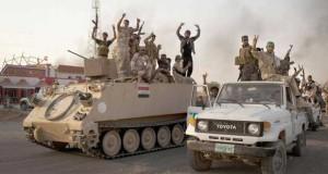 العراق: الجيش يكثف هجومه على (داعش) والتنظيم يقر بامتلاكه أسلحة روسية ألمانية
