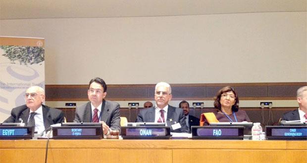 السلطنة تترأس الاجتماع الوزاري الرابع للمائدة المستديرة بمبنى الأمم المتحدة