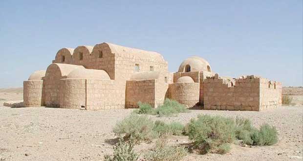 قصر الحير ببادية الشام السورية أعجوبة الفن المـعماري الإسلامي