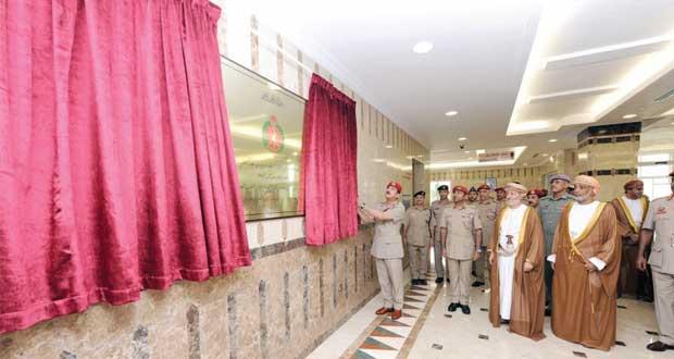 وزير المكتب السلطاني يفتتح مستشفى القوات المسلحة بصلالة