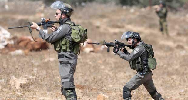عشرات الجرحى الفلسطينيين في مواجهات مع الاحتلال بمدن الضفة المحتلة