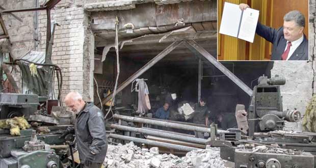 روسيا تعزز قواتها في (القرم) على وقع تمرير الشراكة الأوكرانية ـ الأوروبية