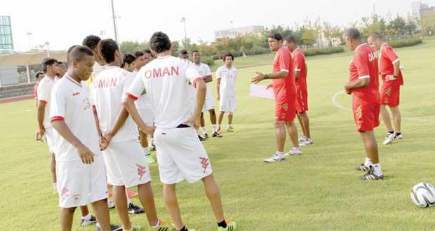 منتخبنا الأولمبي جاهز لملاقاة فلسطين في افتتاح منافسات القدم بدورة الألعاب الآسيوية