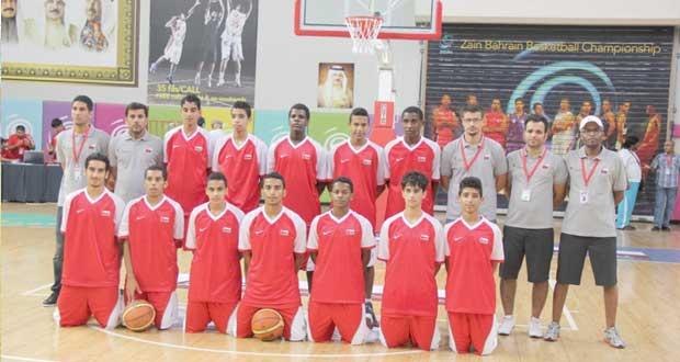 منتخبنا لناشئي السلة يلاقي المنتخب البحريني في مواجهة صعبة.. اليوم