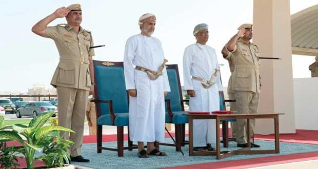 شؤون البلاط السلطاني يحتفل بتخريج الدورة الحادية عشرة من جنوده المستجدين