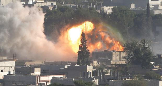على وقع غارات (التحالف) .. (داعش) في المربع الأمني لعين العرب
