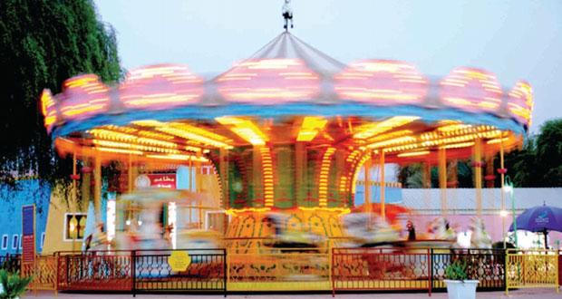 استعدادات متنزه مرح لاند للاحتفال بعيد الأضحى المبارك