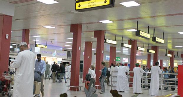 أكثر من 5.9 مليون مسافر عبر مطار مسقط الدولي بنهاية أغسطس الماضي