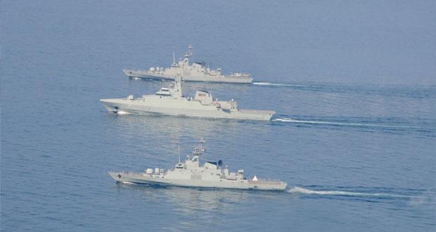 اختتام التمرين البحري أسد البحر – 2 والتمرين البحري المشترك ( كوجار )
