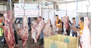 الفلاح الخيرية بفلسطين توزع لحوم الأضاحي العمانية على المتضررين وعلى أصحاب البيوت المهدمة والفقراء والمساكين