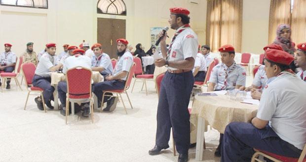 عشائر جوالة نادي نـزوى تشارك دول العالم الإحتفال باليوم العالمي للسلام
