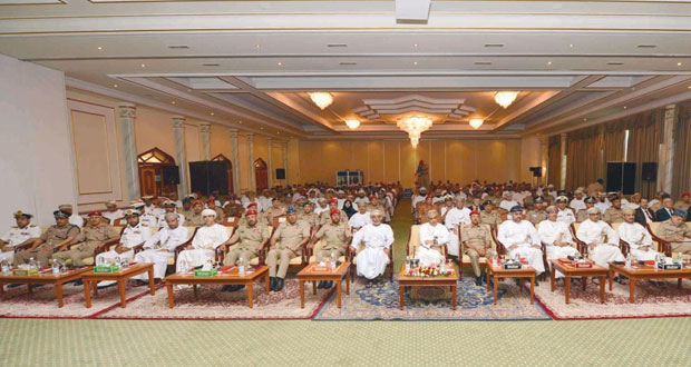 قوات السلطان المسلحة تختتم ندوة الطاقة المتجددة وأثرها على الأمن الوطني