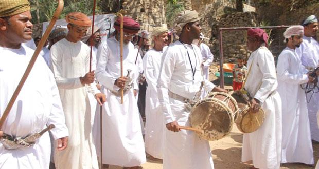 وزارة السياحة تقيم مهرجانا للفنون التقليدية والشعبية بوادي بني خالد بمحافظة شمال الشرقية