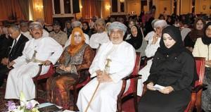 المنذري يرعى احتفال مركز مسقط لصاحبات الأعمال بيوم المرأة العمانية