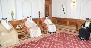 فهد بن محمود يستقبل رؤساء الوفود المشاركة في مؤتمر الخليج للمياه ورئيسة البرلمان التنزاني
