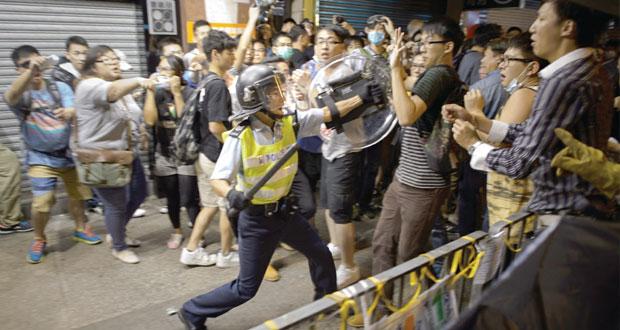 هونج كونج: تحذيرات من تصاعد التظاهرات الاحتجاجية
