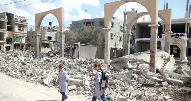 """مشروع قرار """" فلسطيني ـ عربي """" لإنهاء الاحتلال بعد عامين"""