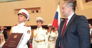 سيرجى أكسيونوف رئيسا لجمهورية القرم الروسية