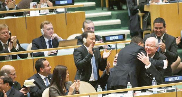 فنزويلا وماليزيا ونيوزيلندا وانجولا وإسبانيا أعضاء غير دائمين بمجلس الأمن