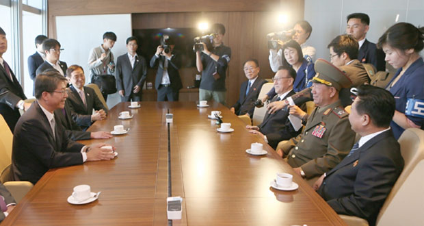الكوريتان تتفقان على استئناف المحادثات ورفع مستوى التمثيل فيها